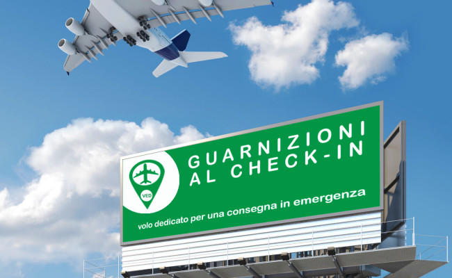 Industrial Gaskets at Check-In, delivered with private airplane