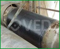 Rivestimento tubazioni sottospessore con materiali compositi