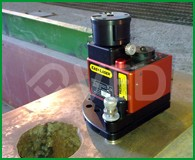 Strumentazione laser per misura planarità piani e flange2