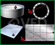 Strumentazione laser per misura planarità piani e flange3