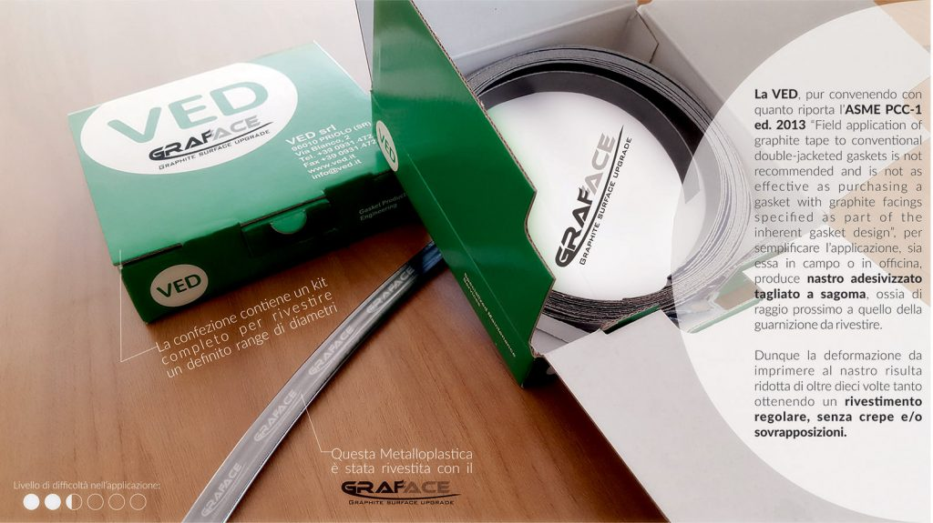 GRAFACE from VED for Metal Jacketed Gaskets