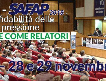 (Italiano) Convegno SAFAP2018, VED presenta tre soluzioni per manutenzioni più sicure