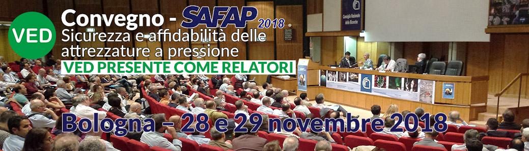 Convegno SAFAP2018, VED presenta tre soluzioni per manutenzioni più sicure