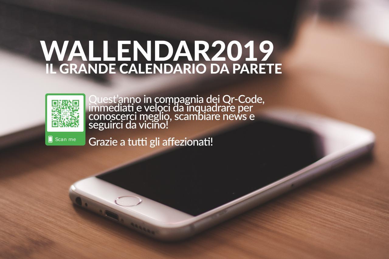 Wallendar 2019 il Calendario da parete di quest'anno è così!